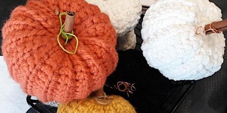 Crocheting Pumpkins!! tickets