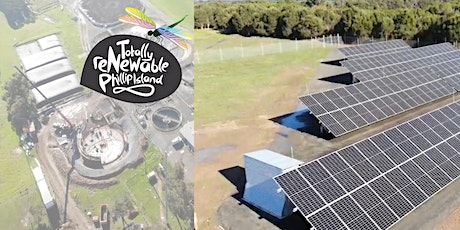 Wastewater Treatment Plant: a solar array virtual tour tickets