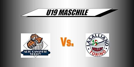 CAMPIONATO UNDER 19 MASCHILE Alto Canavese Volley biglietti