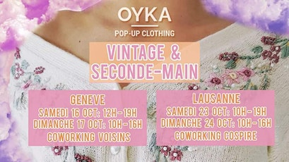 Vintage and Second Hand Clothing Sale billets