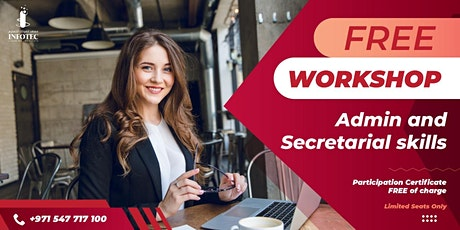 FREE ONE DAY WORKSHOP ON ADMIN AND SECRETARIAL SKILLS tickets