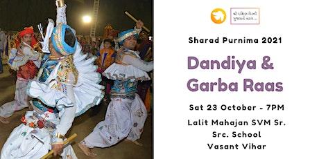 Garba & Dandiya – Sharad Purnima – 2021 tickets