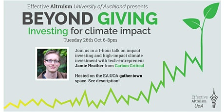 Beyond Giving: Investing for Climate Impact tickets