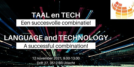 Taal en Tech // Language and Technology tickets