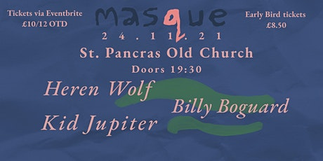 MASQUE - Live at St Pancras Old Church tickets
