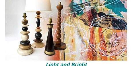 'Light and Bright' a mixed media exhibition featuring Amanda Duke and Anna tickets