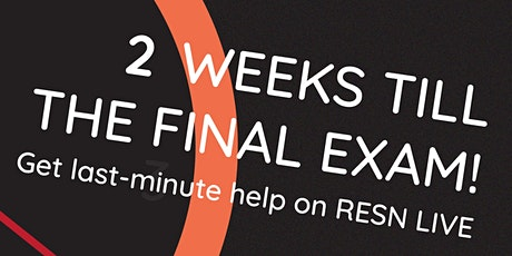 RESN Live: VCE Exam Revision Edition (Monday Session) tickets