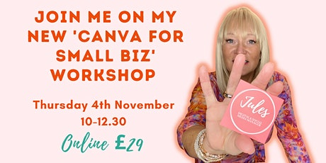 Canva for Small Business Workshop tickets