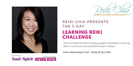 3-day Learning Reiki Challenge tickets