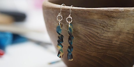 Recycled acetate earring workshop with social enterprise, Pivot tickets