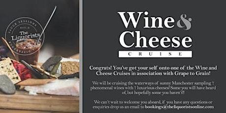 NEW! Wine & Cheese Tasting Cruise! 7pm (The Liquorists) tickets