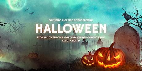 Halloween Quiz and Pumpkin Carving BYOB Event! (18+) tickets