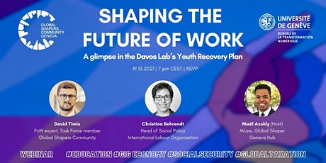 Shaping the Future of Work: a glimpse in the Davos Lab Youth Recovery Plan tickets