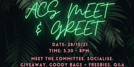 ACS Meet & Greet tickets