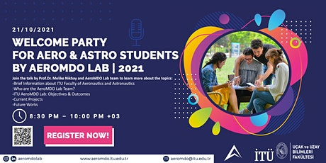 Welcome Party for Aero & Astro Students by AeroMDO Lab | 2021 boletos