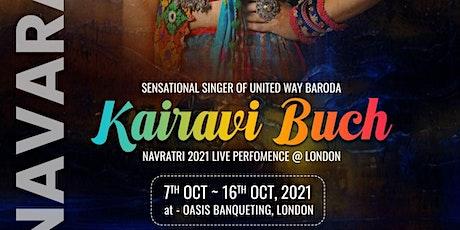 Oasis Garba 2021 & Sharad  Purnima by Kairavi Buch in LONDON tickets