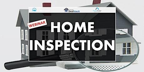 WEBINAR: Home Inspection tickets