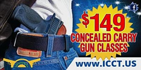 Monday thru Thursday-16 Hour  Concealed Carry Class 6:00 P.M. to 10:00 P.M. tickets