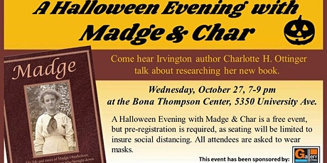 A Halloween Evening with Madge & Char tickets