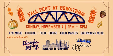 Bowstring Fall Fest tickets