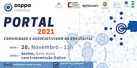 Portal 2021 - Comunidade e Associativismo na Era Digital Tickets