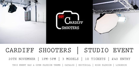 CARDIFF SHOOTERS STUDIO EVENT tickets