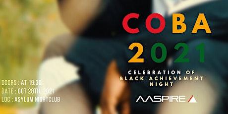 COBA - Celebration of Black Achievement tickets