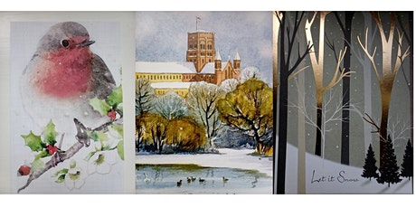 DESIGN YOUR OWN CHRISTMAS CARDS (ADULTS) tickets