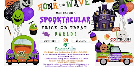Trunk a Treat ! Honk, Wave and  Truck a Treat Experience tickets