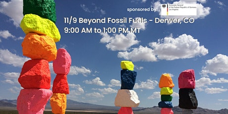 Beyond Fossil Fuels - Just Transition in Colorado and Germany tickets