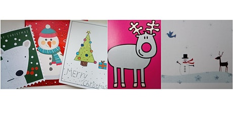 DESIGN YOUR OWN CHRISTMAS CARDS - CHILDREN 8+ tickets