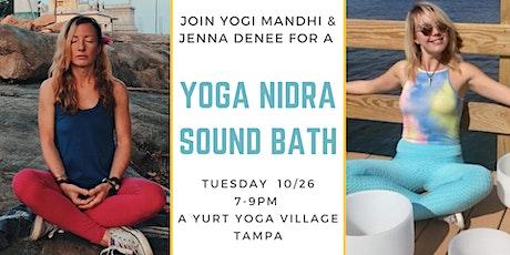 Yoga Nidra Sound Bath tickets