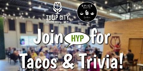 HYP Trivia @ Tulip City Brewstillery tickets