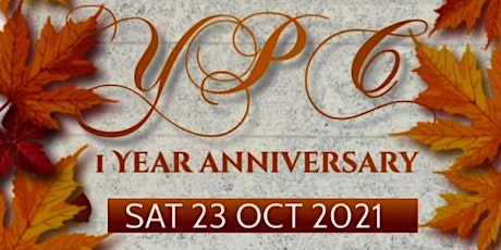 Youth Power in Christ 1st Anniversary tickets