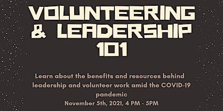 Online Roadshow: Volunteering & Leadership 101 tickets