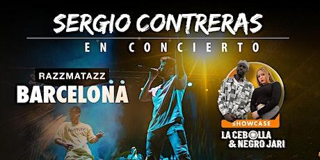 CONCIERTO SERGIO CONTRERAS BARCELONA entradas