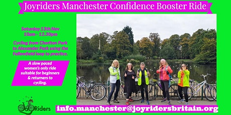 Confidence Building Bike Ride. tickets