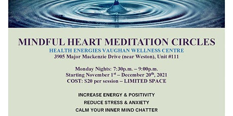 MINDFUL HEART MEDITATION CIRCLES tickets