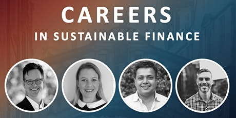 Careers in Sustainable Finance tickets