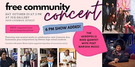 Community Concert at Jo's Gallery tickets