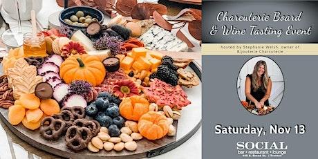 Charcuterie Board & Wine Tasting Event tickets