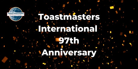 Toastmasters 97 Anniversary with Bloomberg London Toastmasters tickets