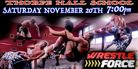 Live Wrestling in Shoeburyness, Southend tickets