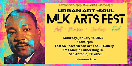 Urban Art + Soul - MLK Arts Festival tickets