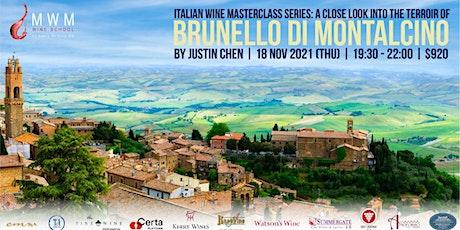 A Close Look into the Terroir of Brunello di Montalcino tickets