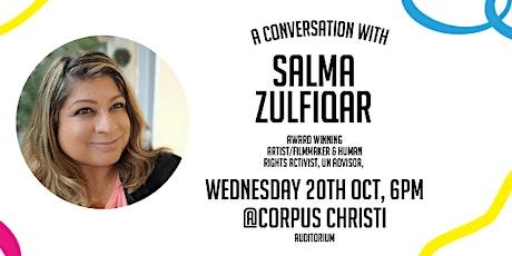 A Conversation with Salma Zulfiqar tickets