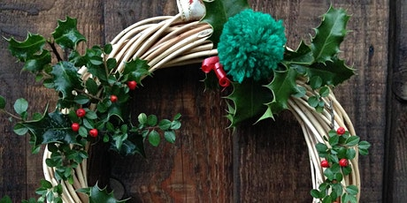 Christmas Willow wreath making tickets