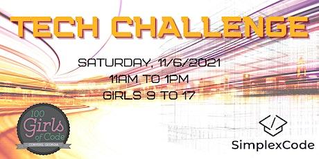 100 Girls of Code & Simplex Code present The Next Gen Tech Challenge tickets