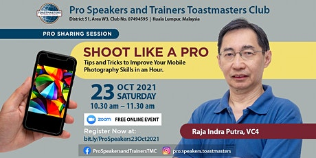 Shoot Like a Pro: Improve Your Mobile Photography Skills in an Hour. tickets