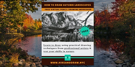 How to Draw Autumn Landscapes With Pencil [FREE WORKSHOP] tickets